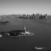 """Lower Manhattan Aerial""NY"