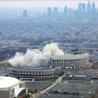 """Veteran's Stadium Implosion""Philadelphia, Pa"